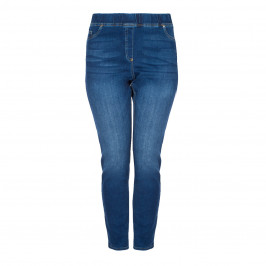 Louisa Viola ELASTICATED WAIST JEGGING - Plus Size Collection