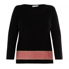 LUISA VIOLA SWEATER BLACK - Plus Size Collection