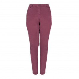 Louisa Viola Bordeaux JEANS - Plus Size Collection