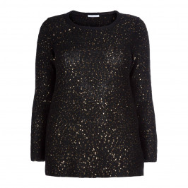 LUISA VIOLA SEQUIN SWEATER  - Plus Size Collection