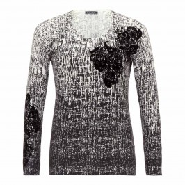LUISA VIOLA MONOCHROME SWEATER - Plus Size Collection