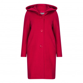 LOUISA VIOLA SINGLE BREASTED WOOL COAT - Plus Size Collection