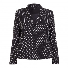 LUISA VIOLA polka dot JACKET - Plus Size Collection