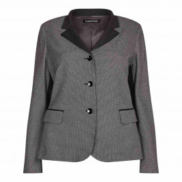 LUISA VIOLA small check JACKET - Plus Size Collection