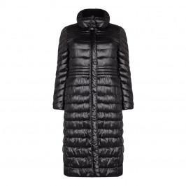 LUISA VIOLA black PUFFA COAT - Plus Size Collection