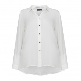 LUISA VIOLA dip hem SHIRT  - Plus Size Collection