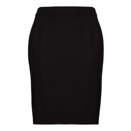 LUISA VIOLA black punto milano pencil SKIRT - Plus Size Collection