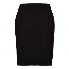LUISA VIOLA black punto milano pencil SKIRT - Plus Size Collection
