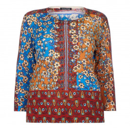 LUISA VIOLA indian print SWEATER - Plus Size Collection