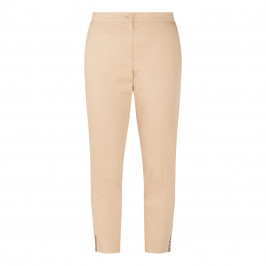 LUISA VIOLA EMBELLISHED TROUSER SAND - Plus Size Collection
