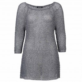 ELENA MIRO LUREX SWEATER - Plus Size Collection