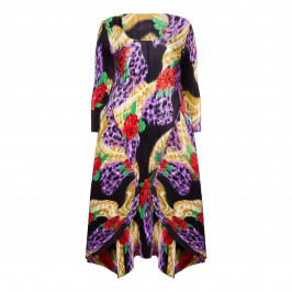 MASHIAH ROSE PRINT DRESS