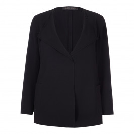 Marina Rinaldi black waterfall JACKET - Plus Size Collection