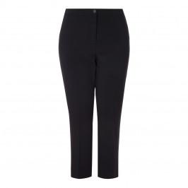 Marina Rinaldi Black ankle grazer crease front TROUSERS - Plus Size Collection