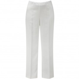 VERPASS IVORY PARALLEL LEG TROUSERS - Plus Size Collection