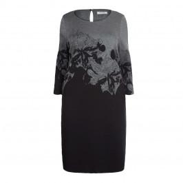 ELENA MIRO WOOL BLEND INTARSIA DRESS - Plus Size Collection