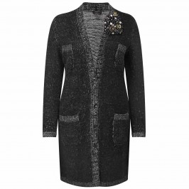 MARINA RINALDI KNITTED COAT - Plus Size Collection