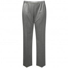 Marina Rinaldi charcoal pull on narrow leg trouser - Plus Size Collection