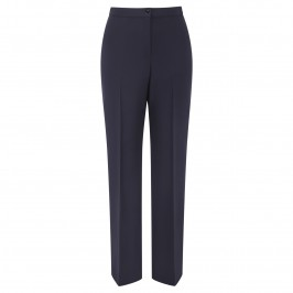 MARINA RINALDI NAVY tailored NARROW LEG TROUSERS - Plus Size Collection