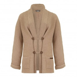Musetti Long Wool-Cashmere Cardigan - Plus Size Collection
