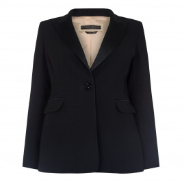 Marina Rinaldi Black Single Breast Blazer - Plus Size Collection