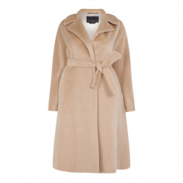 MARINA RINALDI ALPACA AND WOOL COAT - Plus Size Collection