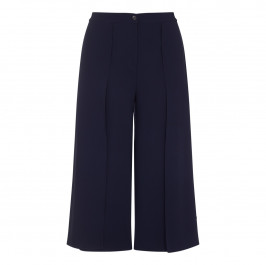Marina Rinaldi navy double layer CULOTTES - Plus Size Collection