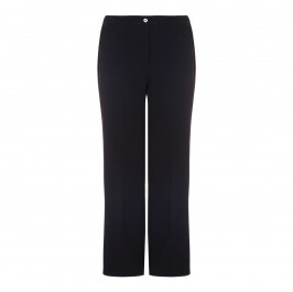 Marina Rinaldi black wide leg trousers - Plus Size Collection