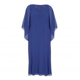 MARINA RINALDI CHIFFON DRESS - Plus Size Collection