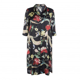 MARINA RINALDI FLORAL PRINT DRESS - Plus Size Collection