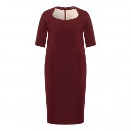 Marina Rinaldi burgundy dress - Plus Size Collection