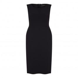 MARINA RINALDI SHEATH DRESS WITH OPTIONAL SLEEVE BLACK - Plus Size Collection