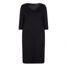 Marina Rinaldi Black Sheath Dress - Plus Size Collection