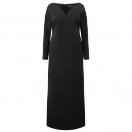 MARINA RINALDI BLACK GOWN - Plus Size Collection