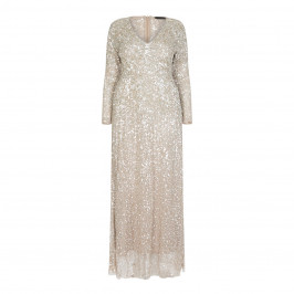 MARINA RINALDI SEQUIN EMBELLISHED GOWN - Plus Size Collection