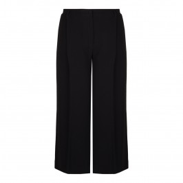 MARINA RINALDI BLACK CULOTTES - Plus Size Collection