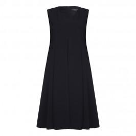 Marina Rinaldi v-neck black DRESS with optional sleeves - Plus Size Collection