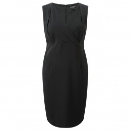 MARINA RINALDI BLACK BODYCON DRESS - Plus Size Collection