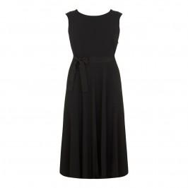 Marina Rinaldi black dress with optional sleeves - Plus Size Collection