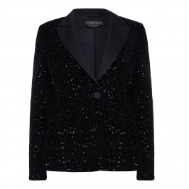 MARINA RINALDI tailored sequinned JACKET - Plus Size Collection