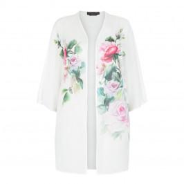 MARINA RINALDI 100% SILK CHIFFON JACKET - Plus Size Collection