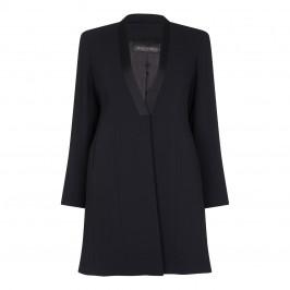 Marina Rinaldi Long Black Tailored Jacket - Plus Size Collection