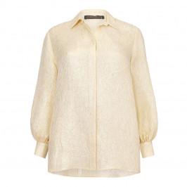 MARINA RINALDI JACQUARD SHIRT - Plus Size Collection