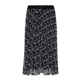 MARINA RINALDI LACE MIDI SKIRT BLACK - Plus Size Collection
