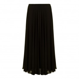 MARINA RINALDI FULL LENGTH BLACK COCKTAIL SKIRT - Plus Size Collection