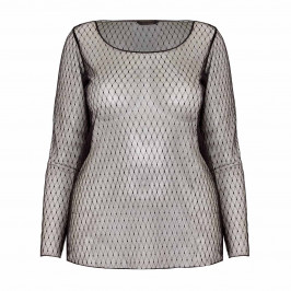 MARINA RINALDI LACE TOP - Plus Size Collection