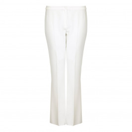 Marina Rinaldi ivory flare TROUSERS - Plus Size Collection