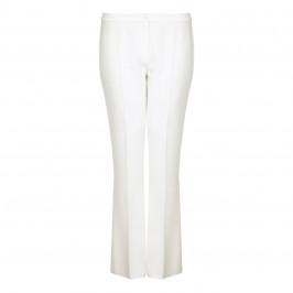 Marina Rinaldi ivory flare TROUSERS - Plus Size Collection