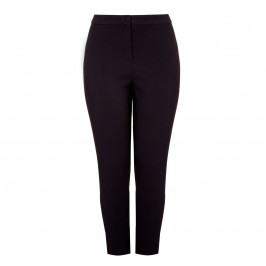 MARINA RINALDI BLACK STRAIGHT LEG TROUSER - Plus Size Collection