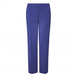 MARINA RINALDI TROUSER CHINA BLUE - Plus Size Collection